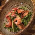 華暦 - 海老とアボカド、トマトのサラダ