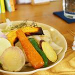 Citta - 料理写真:季節のカレーセット