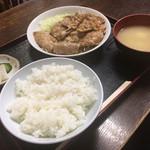 やまて食堂 - 生姜焼き定食