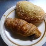 ぷちっく - カレーパンと生チョコクロワッサン