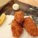 浜焼太郎 - カキフライ3個(580円)