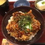 大阪唐揚 旭 - テリ丼(¥640)