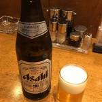 58273188 - ビール アサヒスーパードライ(大瓶) 600円(税込)