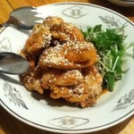 Kantonryourifu - 鶏肉のから揚げ