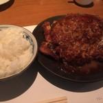 洋食の店 もなみ - Cセット(¥1450):チキンカツ