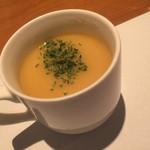 洋食の店 もなみ - ポタージュスープ