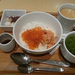 ナナズグリーンティー - 親子丼
