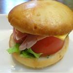 アルベロ カフェ - 料理写真:サンドイッチ