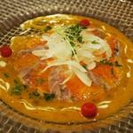 イタリアン カフェ&ワインバル GB 立川店 - 鮮魚のカルパッチョ仕立て