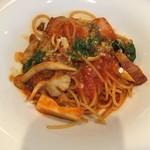 MAGNET - ベーコンとキノコのトマトスパゲッティ