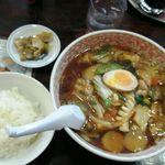 ポパイ ラーメンレストラン - 五目ラーメンランチ950円