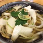 玉藻うどん - 松茸うどん