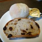 Biton - パスタセット(1000円) パン2種 ※麺パスポート使用