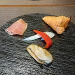 Biton - パスタセット(1000円) 前菜 ※麺パスポート使用