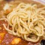 蒙古タンメン中本 - 2016.11 麺は太麺でボリュームあります