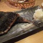 おでん屋 ひなた - 秋刀魚の肝醤油焼き