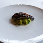 コムシコムサ - 穴子のカレー風味、アボカドご飯
