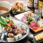 居酒屋 大漁 - 寄せ鍋4000円コース