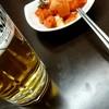 韓国料理 ソウル - 料理写真:ビール頼んだらカクテキきたー美味しい!