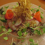 カリーナ カリーナ - 島根県産真鯛のカルパッチョ