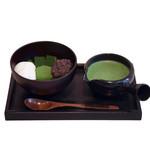 茶の環 - とろける抹茶もちのアフォガード