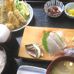 佐島かねき - フライ定食