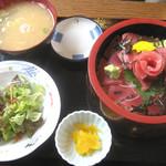 佐島かねき - 鉄火丼