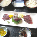 佐島かねき - 鰹定食