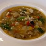 ループ カフェ - 野菜たっぷりのスープ