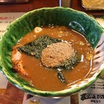 麺や 璃宮 - 2016 燻玉つけ麺 のつけ汁