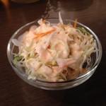 カーリースパイス - 最初のサラダ♡
