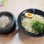 麺カフェ - つけ麺(1.5玉:750円)