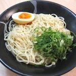 麺カフェ - つけ麺(今回は、ラーメン用の麺を使用)