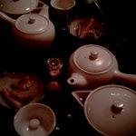 昭和カフェサロン・彩珈楼 - 中国茶みたいだけど、和紅茶です♪