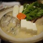 居酒屋 城月 - 牡蠣鍋