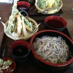 58301399 - 天もり蕎麦(¥1,400)