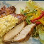 さいとう - めし処 さいとう @板橋本町 自家製タルタルソースがたっぷりんこ掛けられるとっても柔らかい鶏胸肉揚げ