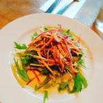 58302281 - ごぼうと水菜のサラダ