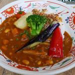 58303926 - 北海道豆とひき肉・野菜のトマトカレー