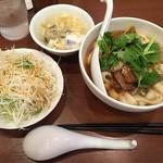 58303999 - ねぎ叉焼刀削麺(2016.Oct)