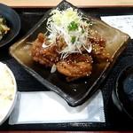 川崎鶏唐揚定食店 - 甘だれ(並)