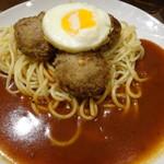 スパゲッティ・ハウス ヨコイ - ミートボール(850円)(量普通)