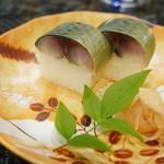 味処てらさき - 鯖寿司