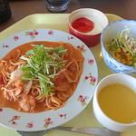 レストラン 花みずき  - 料理写真:201403 トマトクリームパスタ