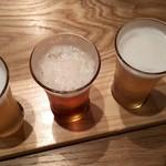 58310949 - ビール3種類
