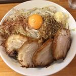 麺屋ガテン - MAZEそば 肉増し(中)♪