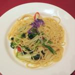 パパミラノ - 野菜のペペロンチーノ