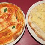 パパミラノ - マルゲリータと4フォルマッジ