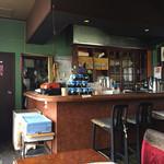 白菊 - 岩ノリが置いてある店内風景