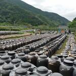 58314533 - 圧巻の「黒酢の壺畑」! 20000壷以上あるらしいです